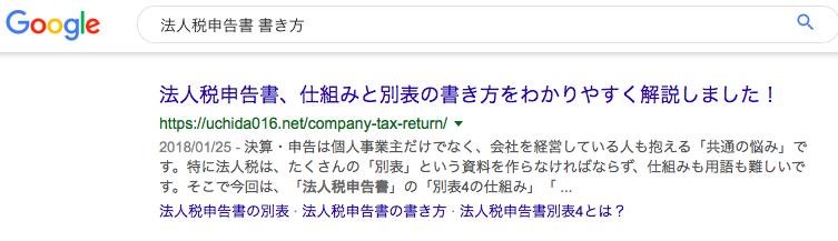 法人税申告書 書き方